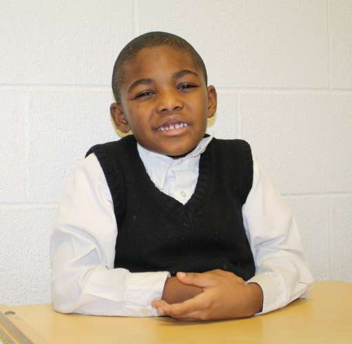 """""""I'm thankful for toys and car races."""" - De'Ante, age 5"""
