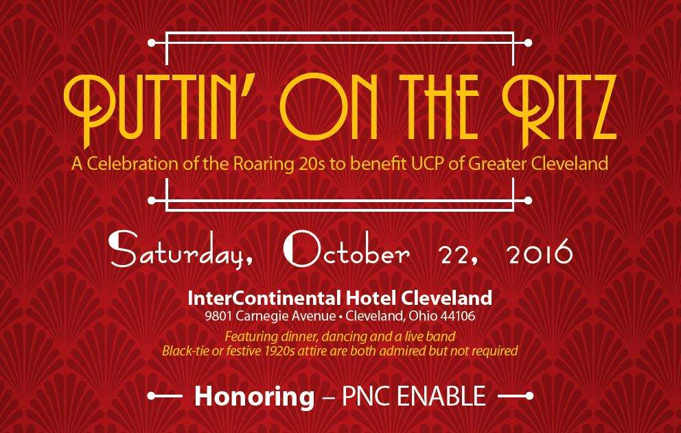 Puttin' on the Ritz Gala - United Cerebral Palsy of Greater Cleveland