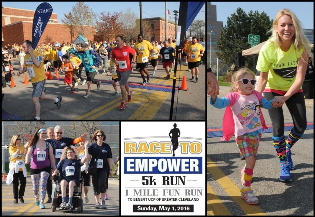 Race to Empower Collage