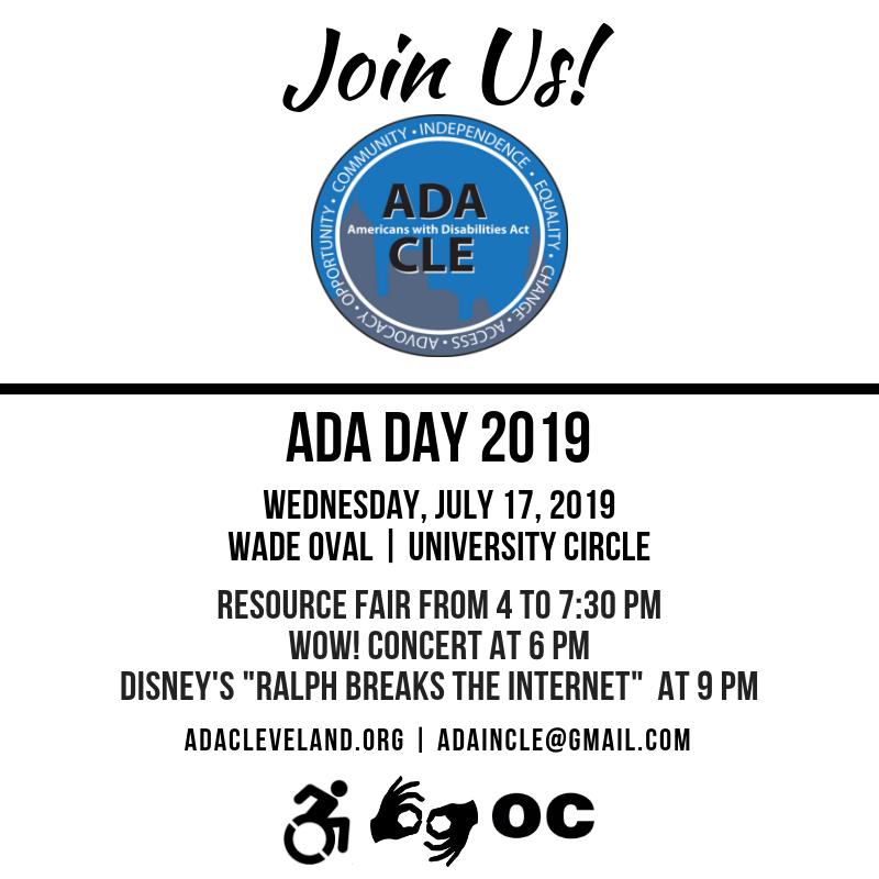 ADA Day flyer